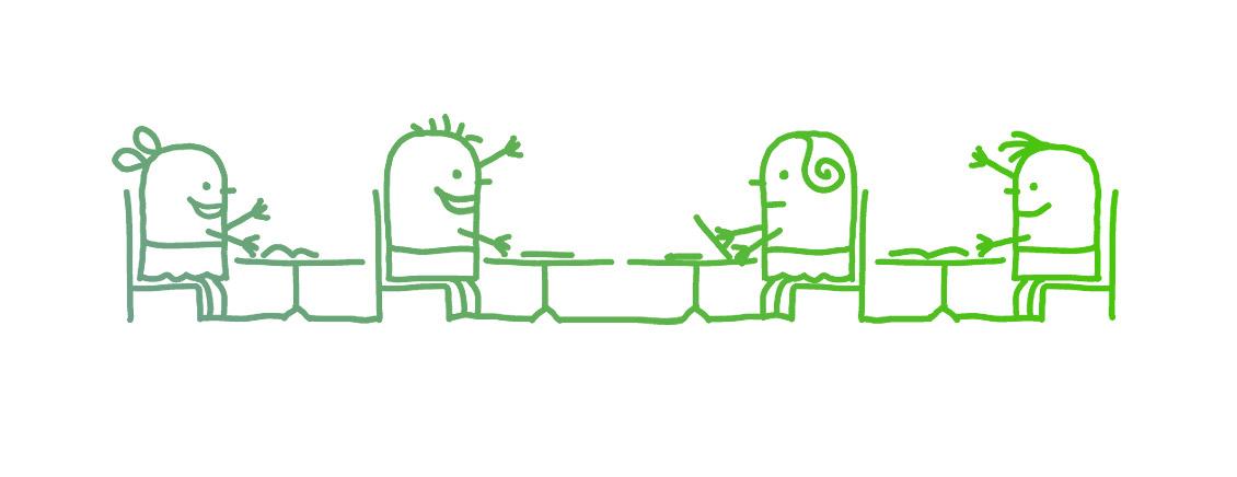 Wie Sie in Meetings, Mitarbeiter- oder Geschäftsgesprächen die optimale Sitzordnung finden