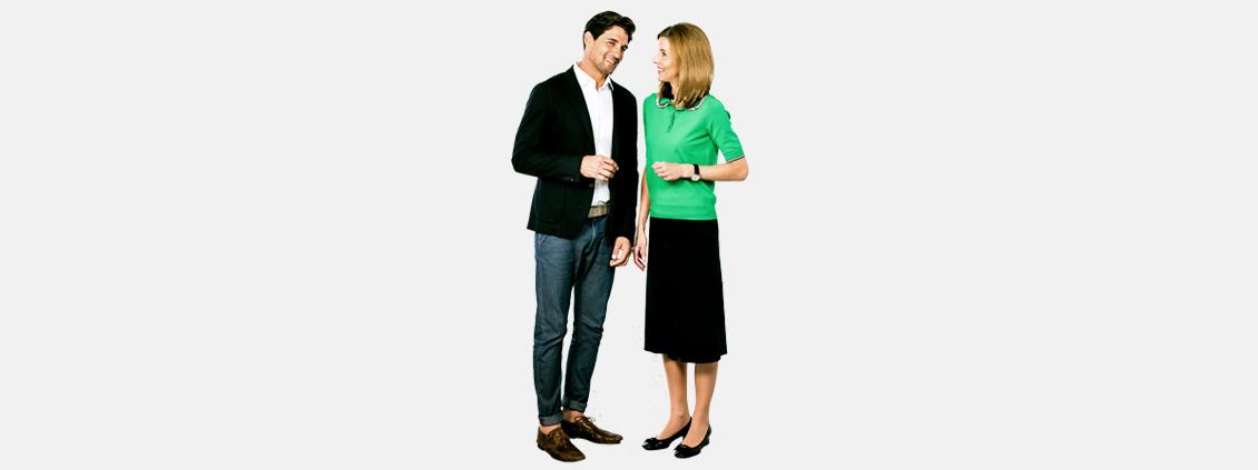 Es knistert - Körpersprache-Tipp von Monika Matschnig