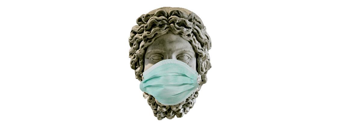 Maskentheater - Mundschutzmaske