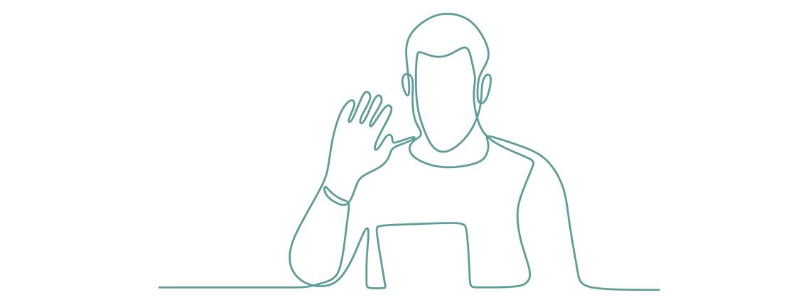 Armbewegungen in der virtuellen Welt